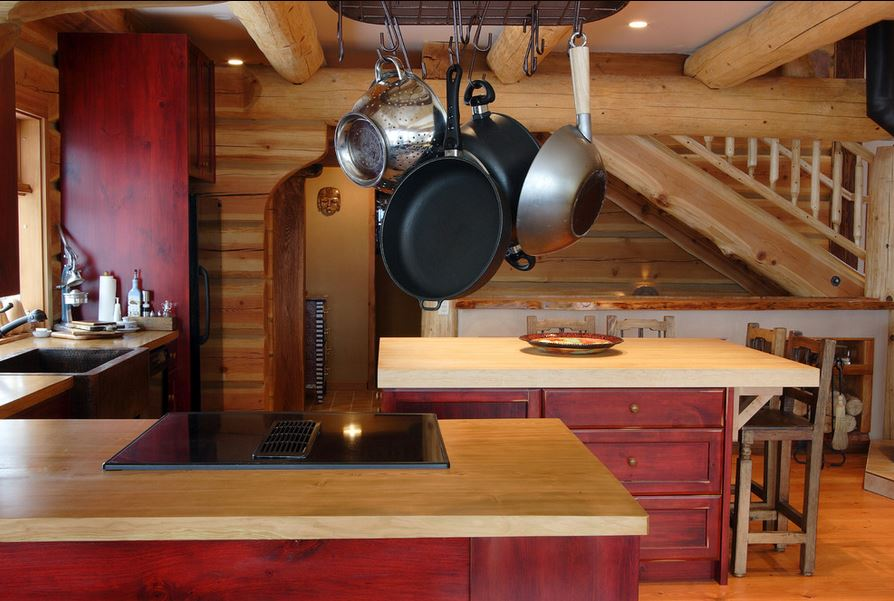 by Traditional Log Homes Ltd