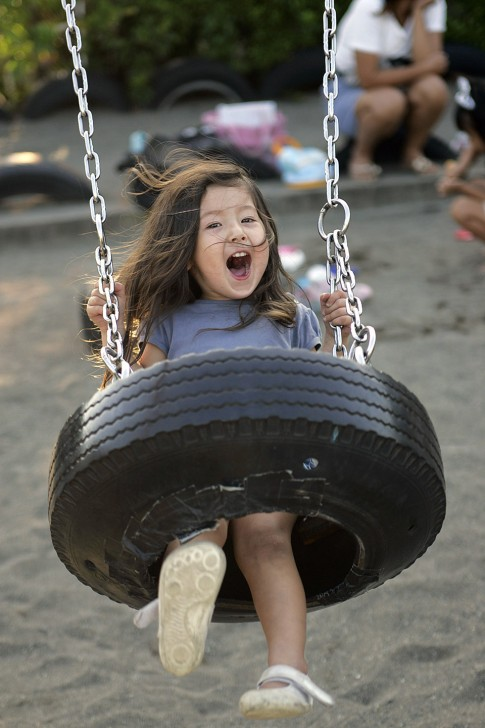 Tokyo Tyre Park Is A Childrens Paradise