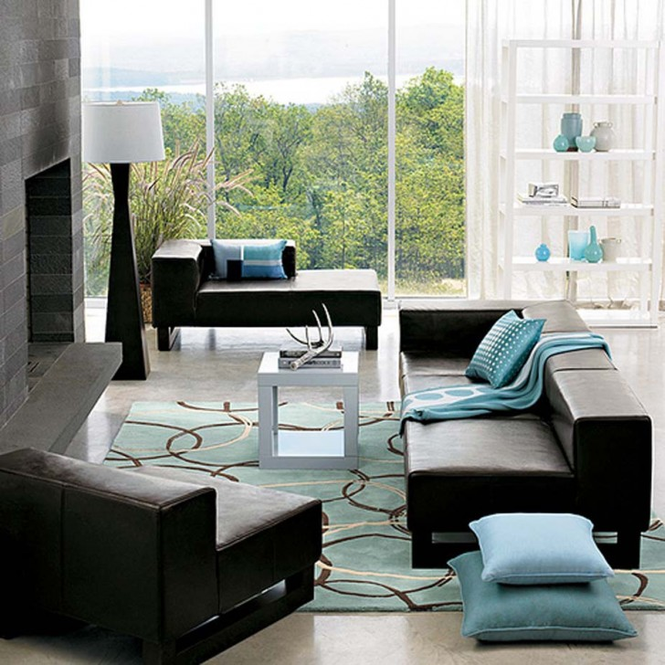 Living-room-decoration-inspiration-with-blue-accent