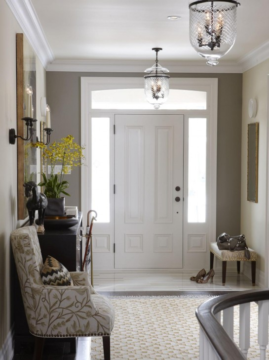 ideas-interior-scenic-white-painted-double-swing-entry-doors-as-well-as-antique-glass-ceiling-lamps-over-accent-chairs-and-table-decors-in-small-grey-foyer-ideas-gallant-foyer-ideas-furniture-decora